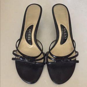"""Guess 2.5"""" black heel"""